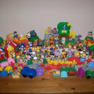 Huge Lot 83 Fisher Price Little People Animals plus Motorized Train Sounds Zoo +