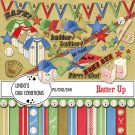 Batter Up Digital Scrapbooking Kit