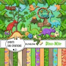 Dino-Mite Digital Scrapbooking Kit