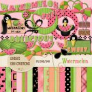 Watermelon (Digital Scrapbooking Kit)