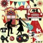 The Rockin' 50's (Digital Scrapbooking Kit)