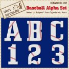 Baseball Alpha Set