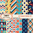 Im'paw'sible 01 (Digital Paper Pack)