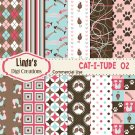 Cat-I-Tude 02 (Digital Paper Pack)
