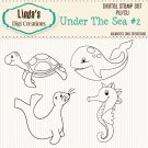 Under The Sea #2 (Digi Stamp Set)