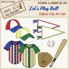 Let's Play Ball (Clip Art Set)