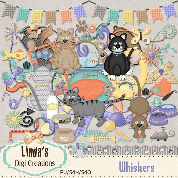 Whiskers (Digi Scrap Kit)