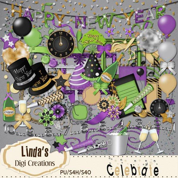 Celebrate (Digi Scrap Kit)