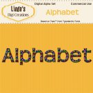 Alphabet Digital Alpha Set