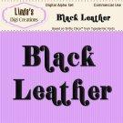 Black Leather Digital Alpha Set