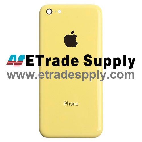 OEM Apple iPhone 5C Rear Housing - Yellow