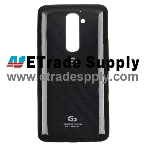 OEM LG G2 D800 Battery Door - Black