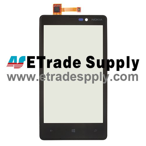OEM Nokia Lumia 820 Digitizer Touch Screen with Front Housing