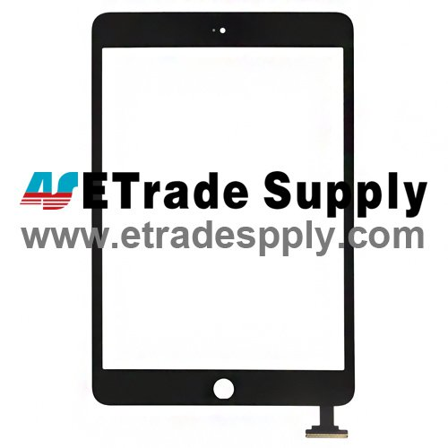 OEM Apple iPad Mini Digitizer Touch Screen (Assembled Flex) - Black