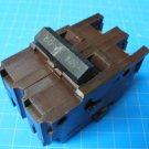 FEDERAL PACIFIC2 Pole Wide Stab-Lok FPE  50 AMP BREAKER - Brown Plastic Body