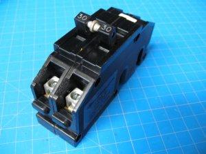 30 AMP Zinsco  2 Pole Wide Breaker Type Q