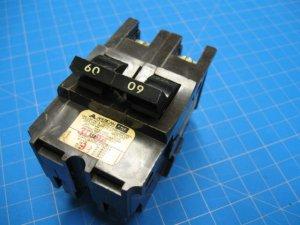 American FPE 60 AMP  Double Wide 2 Pole Breaker