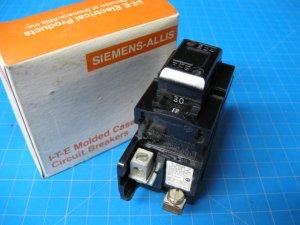 NEW 30 AMP PUSHMATIC ITE Siemens Double Pole Breaker P230