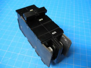 XO BREAKER 40 Amp Double Pole Square D & Cutler Hammer
