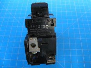 50 AMP Pushmatic Bulldog 2 Pole Beaker Same as ITE Siemens, Gould P250 for 220V