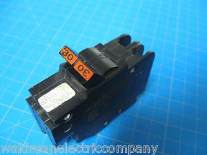"""FEDERAL PACIFIC Stab-Lok 30 AMP 2 Pole Double 1"""" Thin Breaker FPE"""