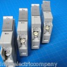 Set Of 4 Square D 1-20 & 3-15 AMP TRILLIANT 1Pole Type SDT120 SDT115 Breaker
