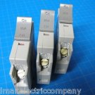 Set Of 3 Square D 2-20 & 1-15 AMP TRILLIANT 1Pole Type SDT120 SDT115 Breaker