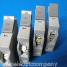 Set Of 4 Square D 3-20 & 1-15 AMP TRILLIANT 1Pole Type SDT120 SDT115 Breaker