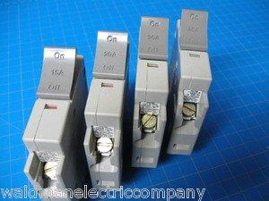 Set Of 4 Square D 3-20 & 1-15 AMP TRILLIANT 1Pole Type SDT120 SDT115 Breaker
