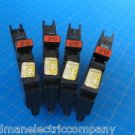 Lot of 4 FEDERAL PACIFIC Stab-Lok FPE 20 AMP Thin 1 Pole Breakers