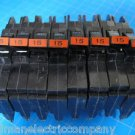"Lot of 8 Federal Pacific Breakers Stab-Lok 1/2"" thin type NC 15 Amp GUARANTEED"