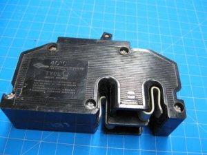 Zinsco 60 AMP 2 Pole Breaker Type Q or QC same as GTE Sylvania