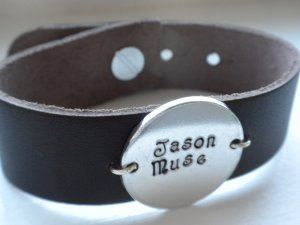 Personalized Leather Wrap