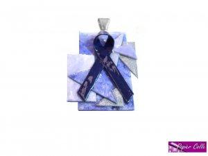 Blue Ribbon Pendant