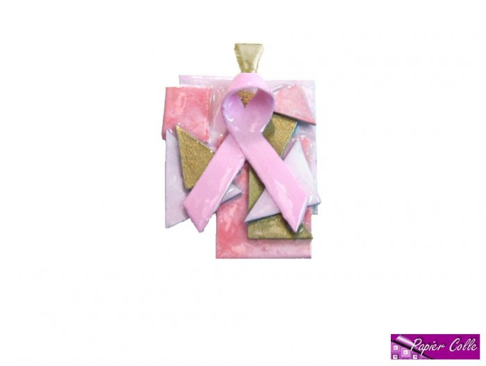 Pink Ribbon Pendant