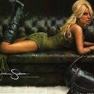Jessica Simpson Tights, Rib Lurex Footless Tights, BLACK, SMALL/MEDIUM