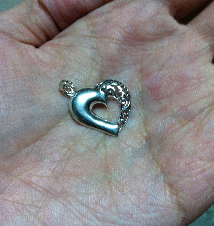 100% Thai Silver 925 Sweet Heart Pendant