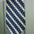 Men's Classic Handmade Blue Striped Necktie Limited Edition