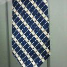 Men's Classic Handmade Blue Striped Necktie Limited Edition