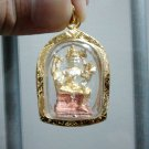 Thailand Luxury Brahma Hindu Deity Gold Plated Amulet Pendant 'Limited Edition'