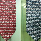 Double Men's Thai Classic Handmade Elephants Fully Decorated Necktie LIMITED EDITION