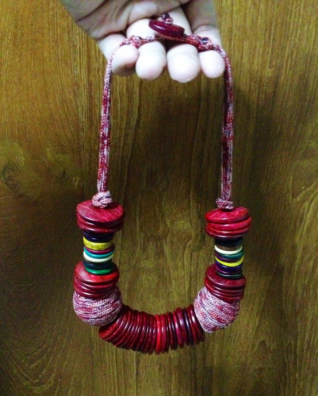 Unique Vintage Retro Handicraft Necklace