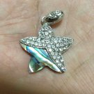 Unique Fashion Handicraft Lovely Wave & Shells Star Pendant