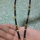 Luxury Handmade Fashion Coconut Shell Beads with 5 micron Gold & Multicolor Enamel Necklace