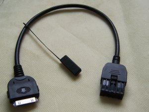 2009-2012 Infiniti EX35 FX35 FX50 G37 QX56 IPOD Aux Audio Input Cable