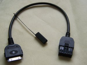 2009-2012 Nissan Sentra Titan Versa Xterra iPod Aux Input Cable 284H2-ZT50A
