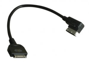 VW Volkswagen MEDIA-IN Cable MDI with iPod adapter 000-051-446-C