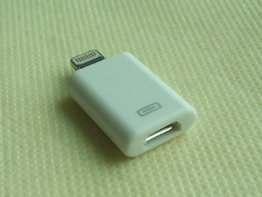 8 pin to Micro USB Data Sync Charger Adapter For iPhone 5 Touch 5th Gen Nano 7