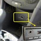 White iPHONE 5 5c 5s iPOD AUX CABLE 3.5MM USB For KIA HYUNDAI 96125-2L000 P8620