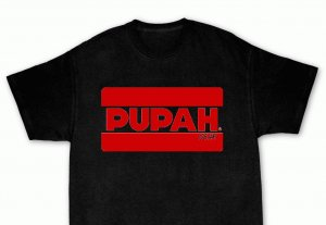 PUPAH Black T-Shirt-Official